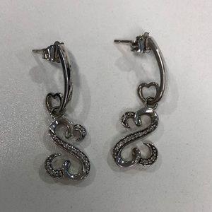 64b17cfc5 Jane Seymour Open Heart Earrings for sale | Only 4 left at -60%